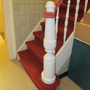 Onderbaluster trap