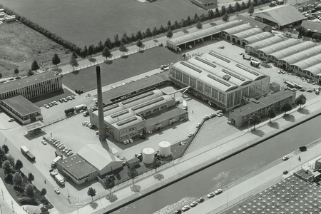 Luchtfoto Campina Eindhoven 1967