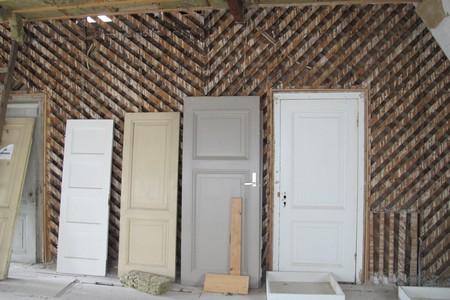 Paneeldeuren voor lattenwand