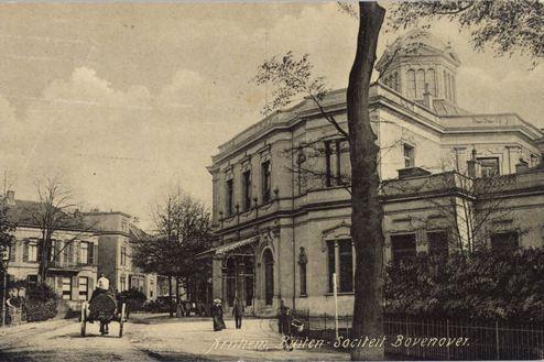 De Arnhemse Buitensociëteit in 1908