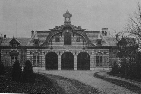 Voorgevel Koetshuis Hydepark 1889