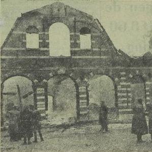 Koetshuis Hydepark na brand in 1951