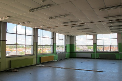 Ambachtsschool Haarlem Interieur Uitbreiding 1958