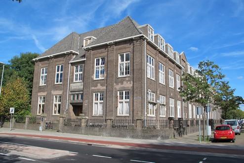 Ambachtsschool Haarlem Voorgevel Middelbare Technische School