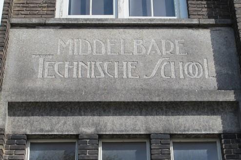 Ambachtsschool Haarlem Gevelsteen Middelbare Technische School