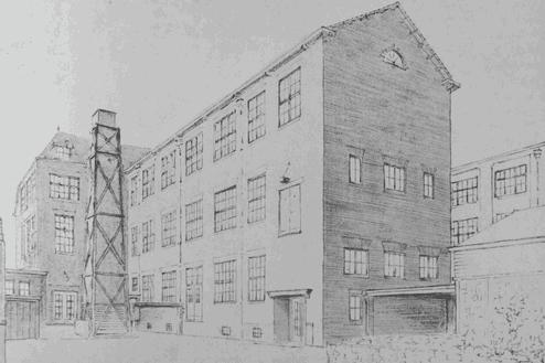 Ambachtsschool Haarlem Ontwerp uitbreiding 1939