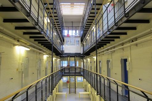 Huis van bewaring II Interieur cellenvleugel