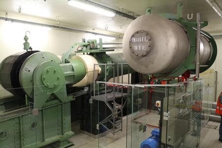 Machinekamer Haringvlietsluizen