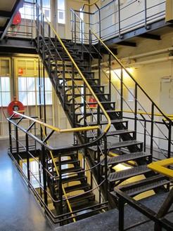 Huis van bewaring II Trappenhuis in cellenvleugel