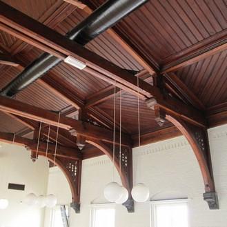 Huis van bewaring II Kapconstructie Stalleskerk