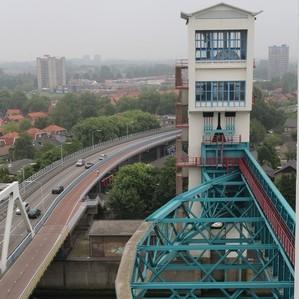 Zicht over schuif Hollandse IJsselkering